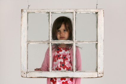 Child In Window