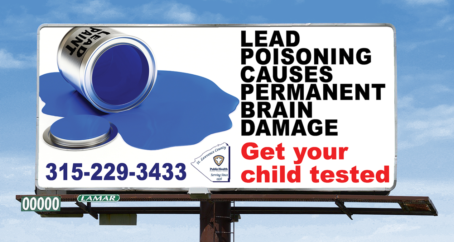 Lead Poisoning Billboard