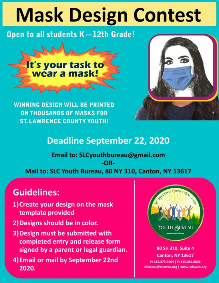 Design a Mask contest Poster